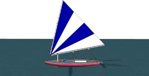 Sunfish Sailboat 0